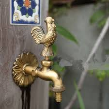 garden faucet. MTTUZK Outdoor Garden Faucet Animal Shape Bibcock Antique Brass Cock Tap For Washing Mop/Garden