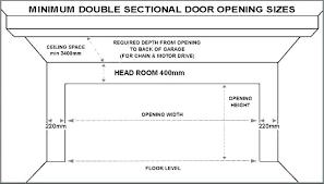 Commercial Garage Door Size Chart Standard Garage Door Sizes Frontdoorapp Co