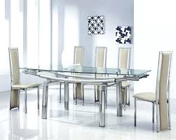 dining table set 6 extendable glass dining table sets best extendable glass dining table and 6 dining table set 6