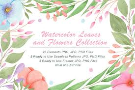 Welcome to our free svg file section. Free Categories Graphics Illustrations Name Download Watercolor Flowers And Leaves Free Design Resources
