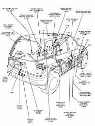 Wiring diagram car parts diagram 2000 kia sportage electrical