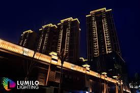 building facade lighting. Facade Lighting Dubai Building A