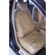sheepskin 1st row black semi custom seat covers