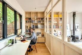 home office designers. How To Maintain Privacy In Your Open Concept Home Office By Architects Building Designers Design