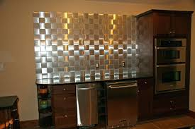 self adhesive metal wall tiles backsplash metallic kitchen l and stick on unique copper with mosaic