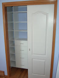reach in closet with sliding doors traditional calgary