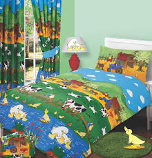 farmyard friends single duvet cover set