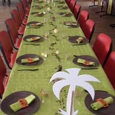 Décoration table Baptême théme jungle (Blog Zôdio)