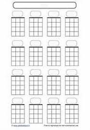 Blank Ukulele Chord Chart Printable Printable Blank Ukulele Chord Sheet Printable Blank Face Charts