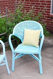 pictures of painted wicker furniture painting wicker furniture happy together images of painted cane chairs