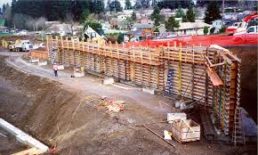Small Picture this is an engineered retaining wall design example wood