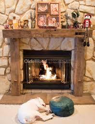 Rustic Fireplace Mantels with Beautiful Choices of Wooden | CafeMomonh ~  Home Design Magazine
