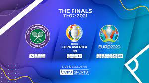 UEFA EURO 2020, Copa America 2021 ...