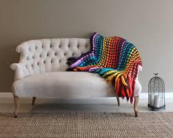 throw blanket throw afghan knit throw blanket colorful