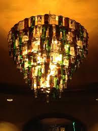 beer bottle chandelier design