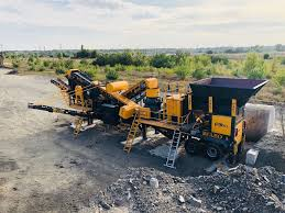 Image result for crushing and screening plant