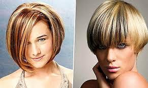 Zdôrazňuje Krátke Vlasy Typy Techniky A Fotografie Farbenie