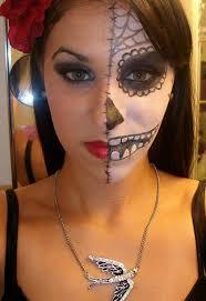 sugar skull makeup dia de los muertos day of the dead look by idreamofjenna