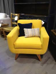 yellow furniture. Yellow Furniture For Living Room And Bedroom Toobe8 Base Chair Sofa Single Piece Wood Legs Dark Blue Pillowcase Creme With Color Strips T
