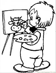 painting coloring pages. Exellent Pages Back To Post Other Paint Coloring Pages For Painting A