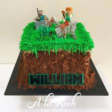 minecraft cake recipe. Exellent Cake Minecraft Cake  La Roch Cakes Sweets In Recipe