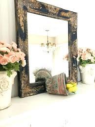 ornate bathroom vanities navy blue gold framed shabby chic wall mirror bathroom vanity mirror salon mirror baroque ornate mirror custom colors available