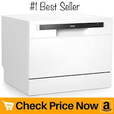 homelabs compact countertop dishwasher best portable mini dishwasher in stainless steel interior