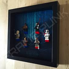 the force awakens lego minifigure display frame punk star wars