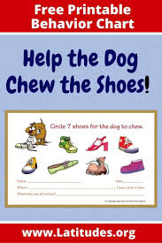 Free Incentive Chart For Single Behaviors Circle The Shoes