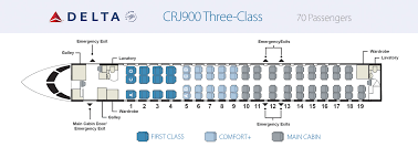 Canadair Regional Jet 900 Seating Chart Aircraft Skywest Airlines