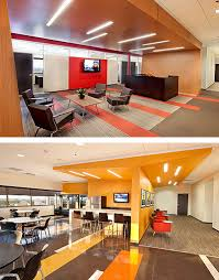 colorful office space interior design. In The Design For CSX\u0027s New Office Space, GS\u0026P Developed A Lively Rich Warm Color Palette Infused With Red. Complementing Colors To Red Are Used Colorful Space Interior G