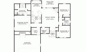 Eplans Ranch House Plan Split Bedroom Brick Square Feet Bedrooms