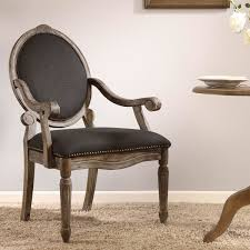 brentwood chair. Maison Rouge Brentwood Grey Dining Armchair Chair