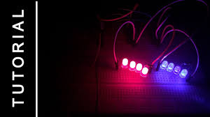 Why Are Police Lights Red And Blue Tutorial 555 Timer Circuits Police Lights Red Blue