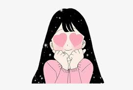Unique aesthetic stickers featuring millions of original designs created and sold by independent artists. Stickers Transparent Aesthetic Cute Anime Girl Pink Cute Anime Girl Aesthetic Png Image Transparent Png Free Download On Seekpng