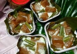 Kue keranjang kue dodol imlek kue daun pisang 2881. Resep Kue Keranjang Santan Kukus Oleh Shella Thennia Cookpad