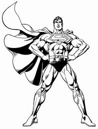Small Picture Superman Coloring Pages learn languageme