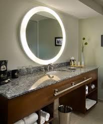 Hotel Bathroom Lighted Mirror Trinity Lighted Mirror Electric Mirror