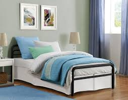 Metal Bed Bedroom Dorel Home Furnishings Twin Metal Bed Multiple Sizes Home