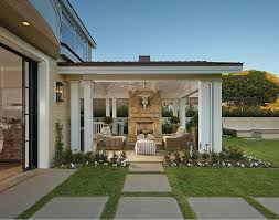 images of covered patio designs with fireplace