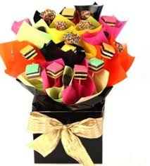 flowers australia gifts her a delicious bouquet of liquorice allsorts to