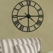25 ideas for modern interior decorating with large wall clocks in wall clock decor ideas