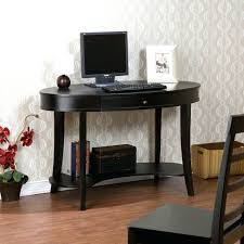 black small desk chic small black computer desk furniture oval black computer desk with drawer and
