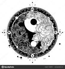 Tetování Yin Yang