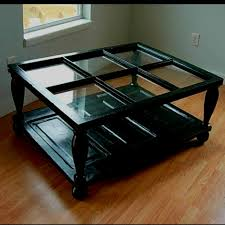 millwork repurposed coffee table made from an old window and door bayer built woodworks