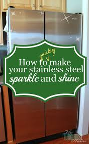 How To Clean Stainless Steal How To Clean Stainless Steel The Turquoise Home