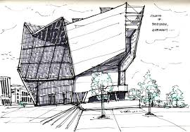 architecture sketches. thinking insomniac vernelle noel ufa cinema dresden germany architecture sketches