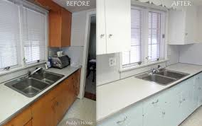 painting kitchen cabinets before and afterGranite Countertops Painting Oak Kitchen Cabinets Before And After