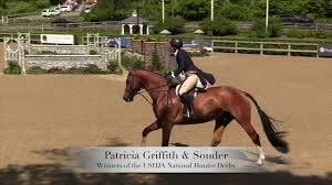 Patricia Griffith and Sonder - Winners of the $5,000 USHJA National Hunter  Derby - YouTube