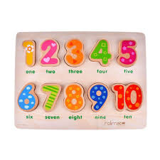 senarai harga wooden number puzzles toys for toddlers early learning development activity toys wooden educational preschool toddler toys terbaru di